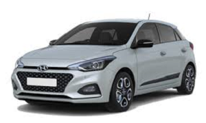 Hyunday I20 rent a car