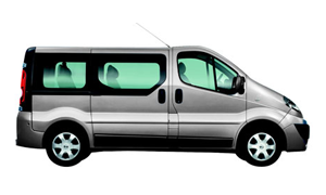 Nissan Primastar rent a car