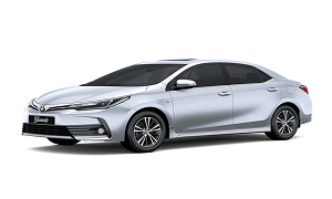 Toyota corolla Diesel rent a car