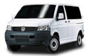 VW Transorter rent a car