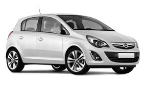 Opel Corsa rent a car