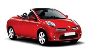 Nissan Micra CC rent a car