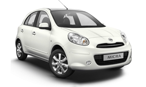 NIssan Micra rent a car