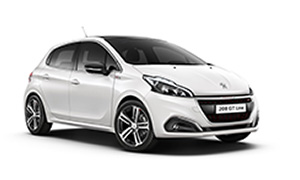 Peugeot 208 Automatic rent a car