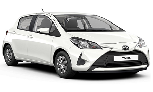 Toyota Yaris rent a car